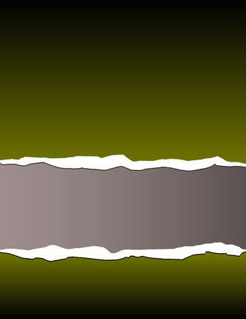 A torn paper vector background Vector