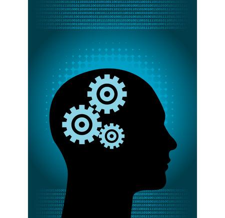 mente humana: Perdido en sus pensamientos