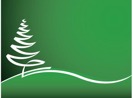 抽象的なベクトル テキスト用のスペースとクリスマスの風景の背景  イラスト・ベクター素材