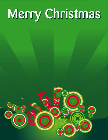 A Merry Christmas vector holiday background Vector