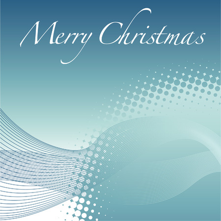 A Merry Christmas vector winter holiday background Stock Vector - 4264422