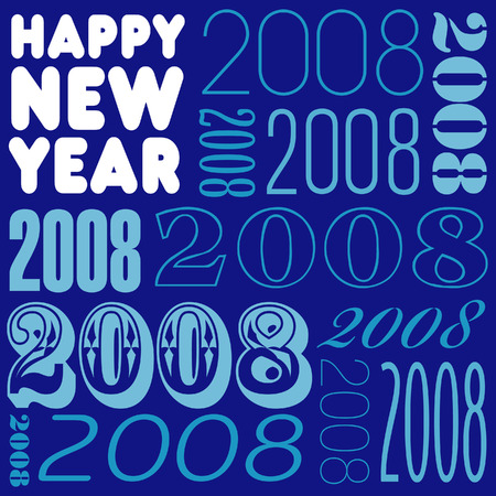 harry: Harry new year vector background Illustration
