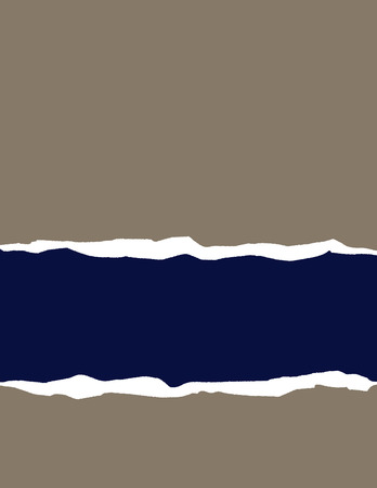 A vector background of torn paper with space for text Vector