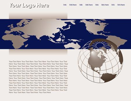 site: Web site design template