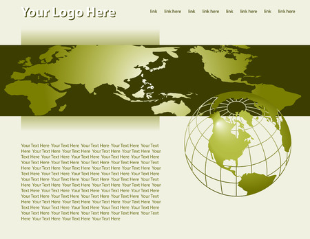 Web site design template Stock Vector - 4522114