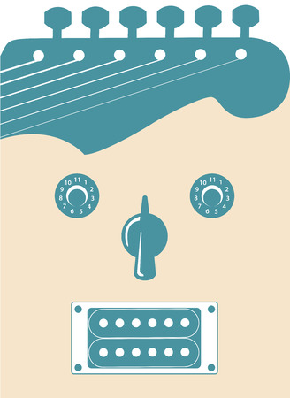 resonance: Funky guitar music background for Print or Web