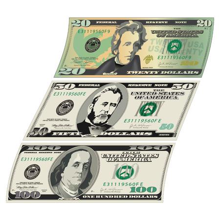 president of the usa: Wavy money design