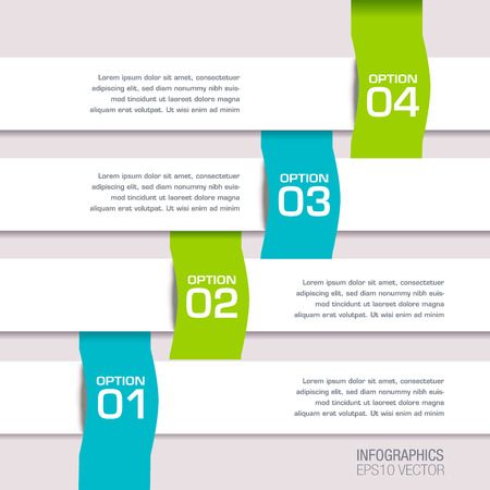 label tag: Modern Colorful Infographic icon Banners