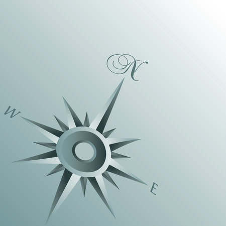 compass rose: An Abstract Compass Background illustration for Print or Web Illustration