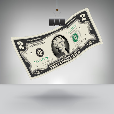 hung: Money Hung by a Binder Clip