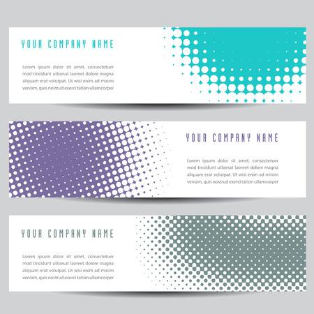 horizontal: Colorful Horizontal Banners