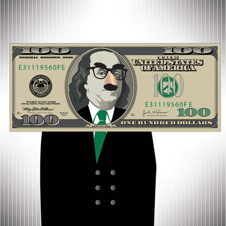 federal reserve: A Whimsical Way to Look At a 100 Dollar Bill