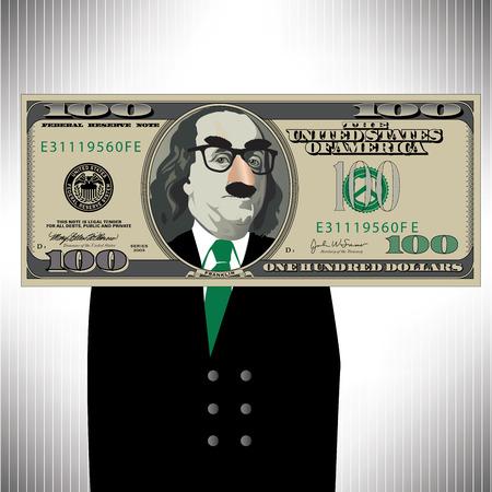 way bill: A Whimsical Way to Look At a 100 Dollar Bill
