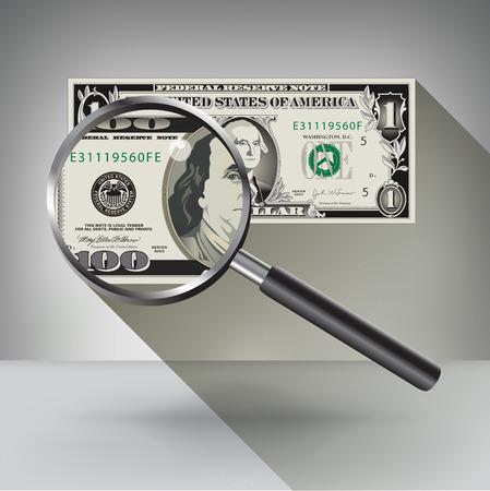 multiplicar: Un dólar se convierte en un Hundred una inspección más cercana