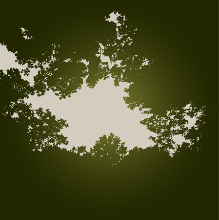 ethereal: An Ethereal Tree Background With Space for Text
