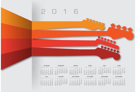 scheduler: 2016 Creative Guitar Calendar