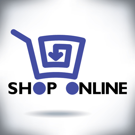 gift basket: Refreshingly new online shopping cart icon