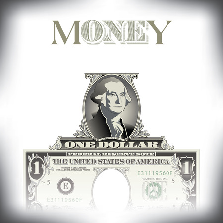 money background: A money background with space for type