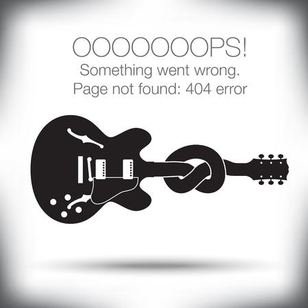 Ongebruikelijke - 404 error - Pagina niet gevonden grafische