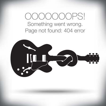 page not found: Unusual - 404 error - page not found graphic