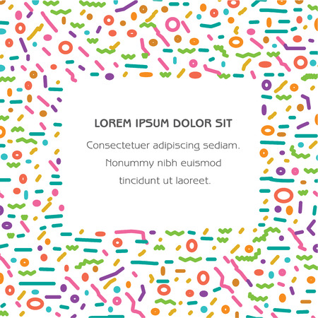 A colorful festive background with space for your type