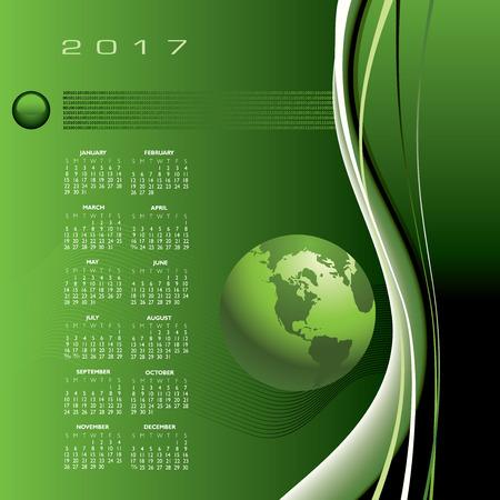 A 2017 global communications calendar