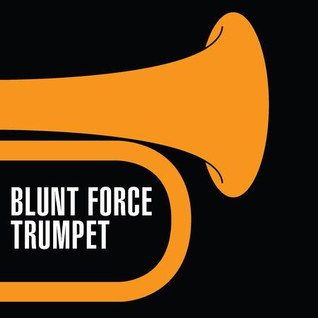 flugelhorn: Blunt Force Trumpet Jazz artwork for print or web