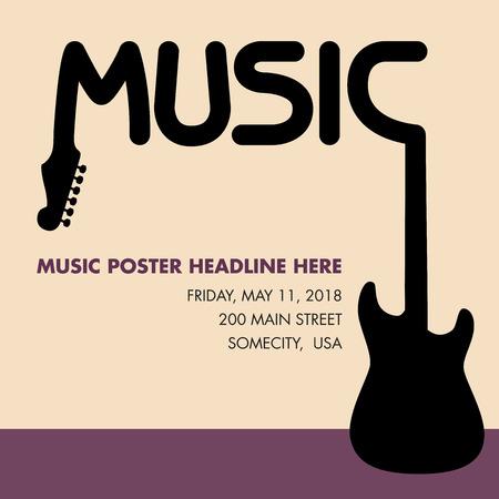 fret: Unusual guitar poster