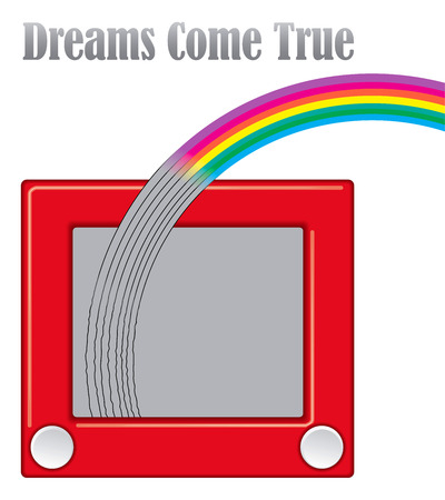 Dreams come true unique graphic