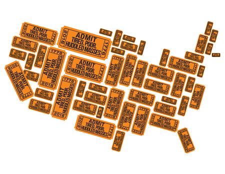 Icône de carte de l'Amérique.