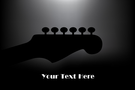 A classy guitar poster background