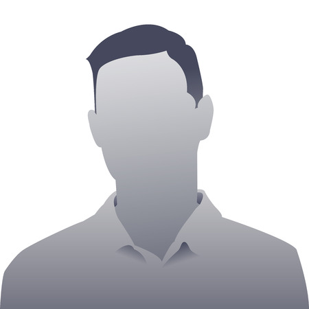 Generic person gray photo placeholder man silhouette