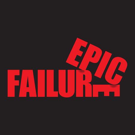 A unique, unusual and clever epic failure graphic