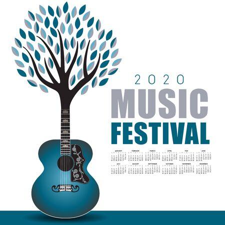 2020 Outdoor music festival art