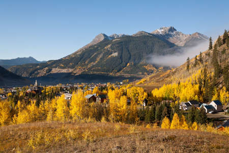 Autumn in Silverton, Colorado photo