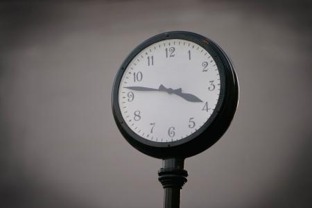 Outdoor wall clock photo