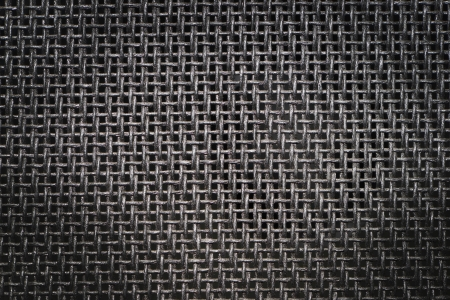 Black woven canvas background or texture Stock Photo - 19927031