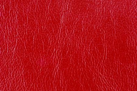 faux: Rosso lucido trama ecopelle Archivio Fotografico