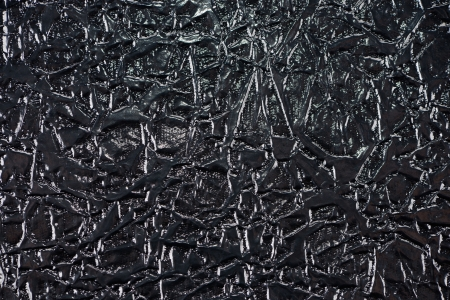 faux: Nero lucido tessuto ecopelle