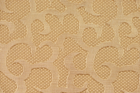 Beige synthetic leather with embossed texture photo