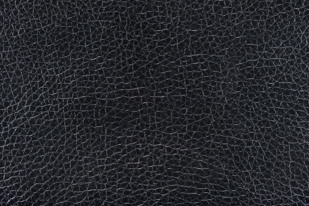 leatherette: Black leather background  texture Stock Photo