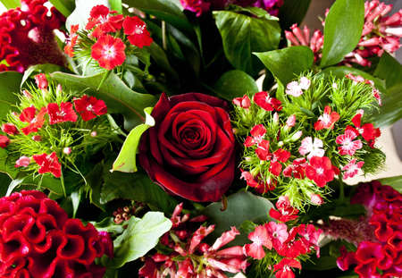 rood: Rood bouquet