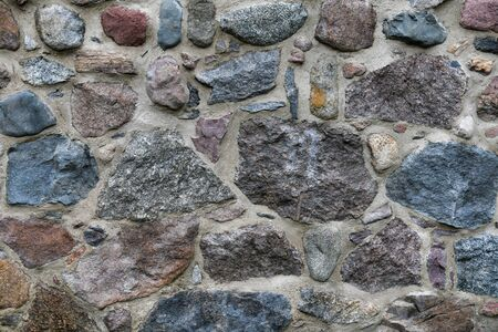 Old stone Wall with Lots of Texture and Colors. 写真素材