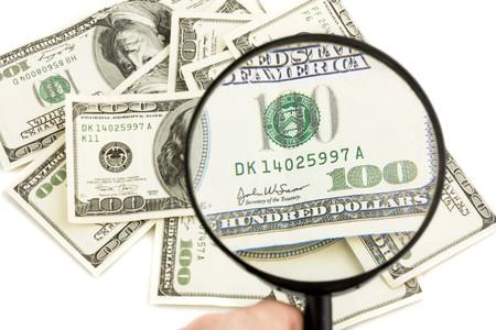 one hundred dollars: One hundred Dollars under zoom