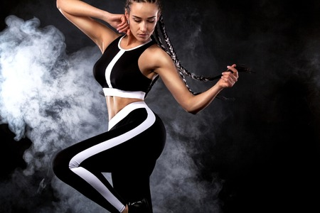 Fashion, dance and sport Stock Photo