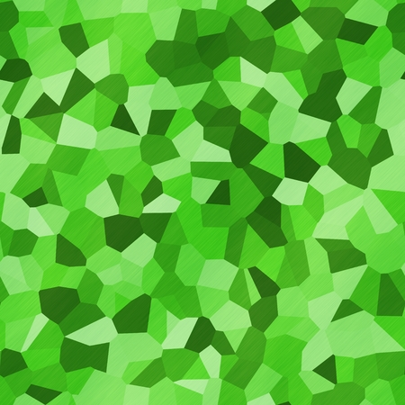 Textured green glass with more shades, green seamless kaleidoscope texture