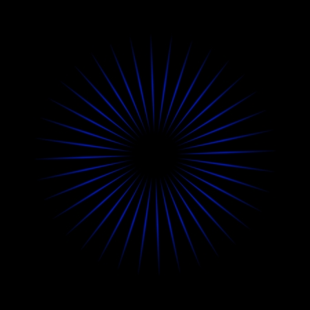 Blue oscillator with black background texture 写真素材 - 106228506