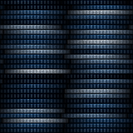 White and blue coins seamless texture with many coins