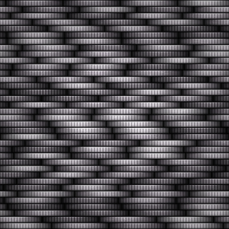 White coins seamless texture with many coins