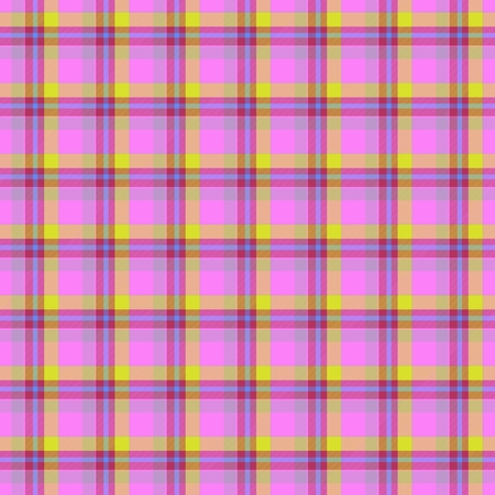 Pink and yellow table-cloth seamless texture